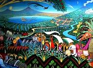 Nicaragua  SOURCE:  http://pixabay.com/fr/nicaragua-peintures-murales-lac-205234/