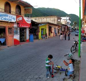 Image accompanying a memoir describing aspects of life in Panajachel, Guatemala, as perceived by an American expatriate