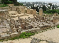 Ruins of Carthage in Tunisia