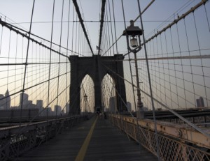 A Walk on the Brooklyn Bridge