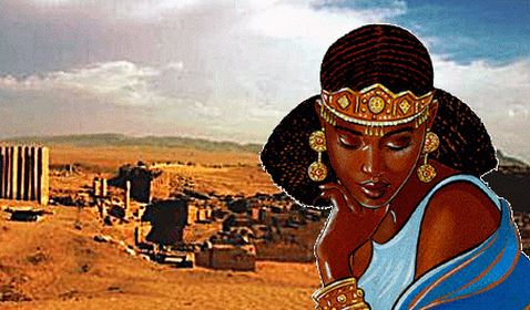 The Queen of Sheba in Eritrea