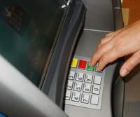 A bank cash machine in Lebanon